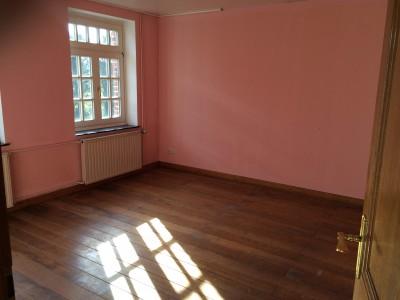 Natürlich hatten wir auch eine rosarote Brille auf, als wir die Räume zum ersten Mal sahen... In einer neuen Farbe gestrichen, wird dies unser Wohnzimmer mit Blick ins Grüne.