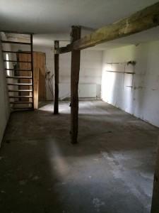 Dieser Teil der Scheune wird von uns erstmal nicht genutzt, könnte aber bei personeller Erweiterung der Potztausend Medienagentur als Büro und Seminarraum genutzt werden. Eine Heizung ist schon vorhanden.